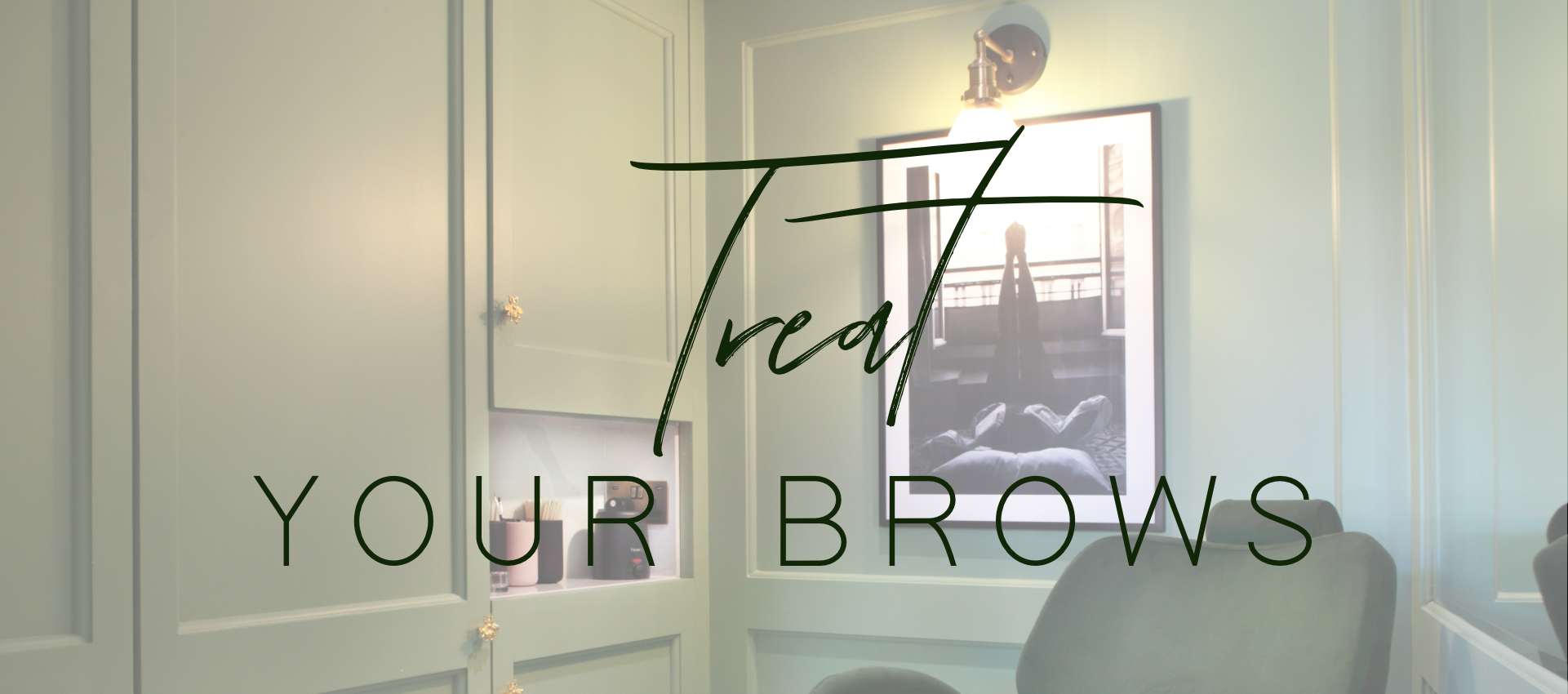 Treat your brows at 12 the green