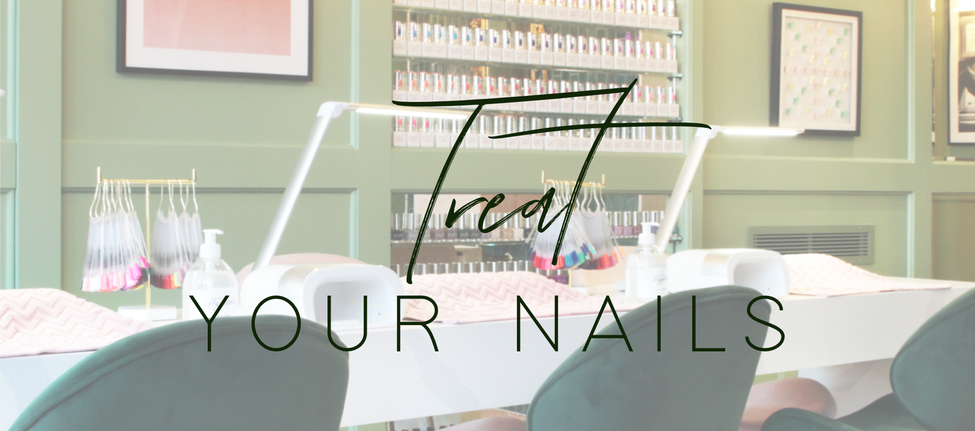 Treat Your Nails at 12 The Green